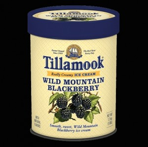 Tillamook ice cream--a sight to make Oregonians smile.